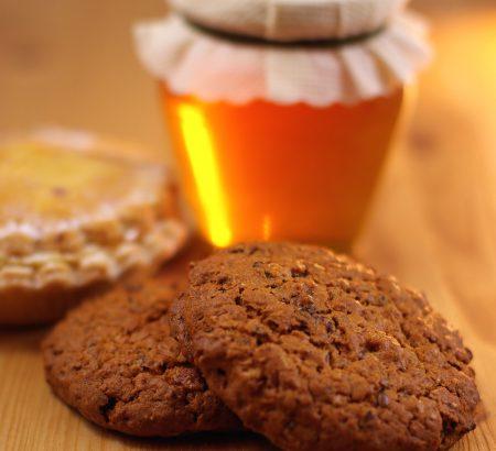 Λαχταριστά μπισκότα με μέλι