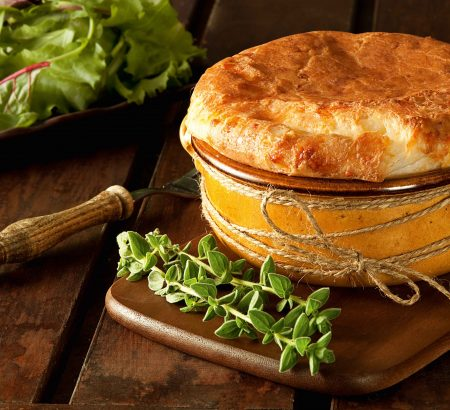 Cheese Souffle with a bechamel base