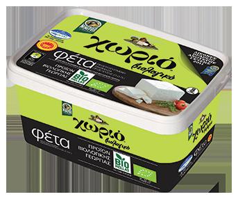 Horio organic feta cheese 350gr