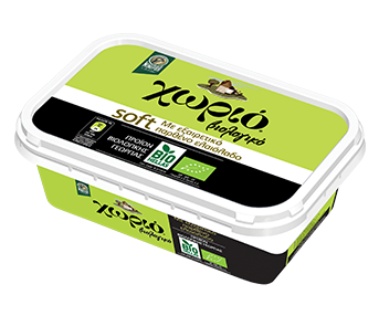 Horio soft organic margarine with extra virgin olive oil 250gr