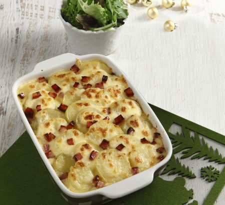 Au gratin με πατάτες στο φούρνο από τον Ηλία Μαμαλάκη