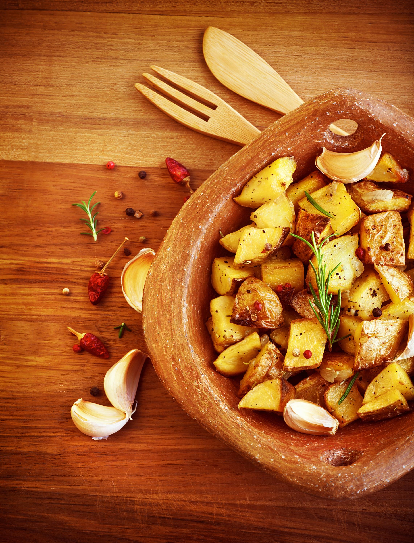 Πατάτες φούρνου μελωμένες