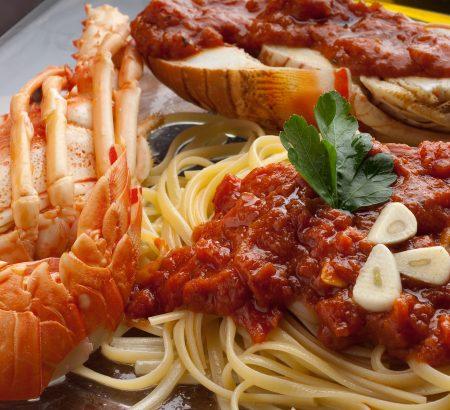 Pasta crayfish