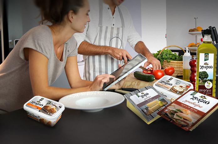 Food Bloggers δημιουργούν με προϊόντα Χωριό