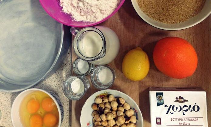 Πώς να φτιάξουμε βασιλόπιτα-κέικ βήμα-βήμα